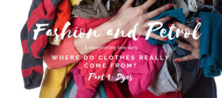 Fashion and petrol: a love story – A rainbow of dyes from a crude oil barrel