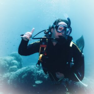 Diving at Agincourt reef