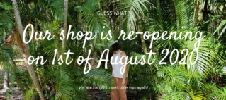 Finally re-opening the store!