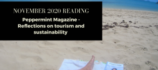Travel and sustainability